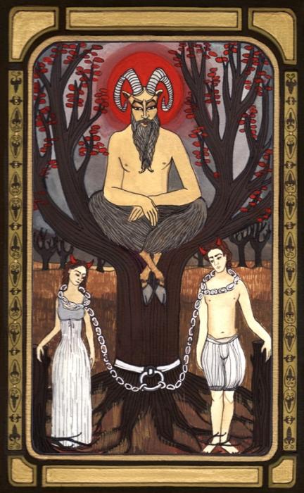 Arcanos Mayores – El Diablo, Tarotistas y Videntes