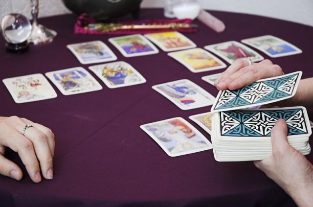 tirada de cartas, Tarot en femenino