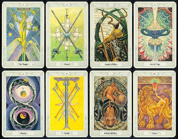 Aleister Crowley Thoth Tarot ,las cartas del Tarot, Tarotistas y Videntes