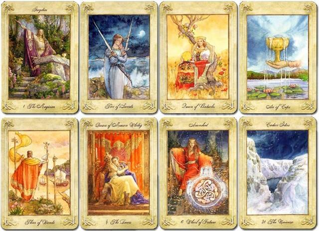 Llewellyn Tarot, las cartas del Tarot, Tarotistas y Videntes