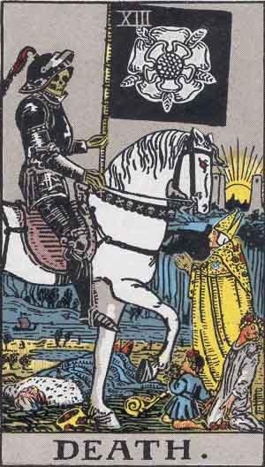Arcanos Mayores - La Muerte, Tarotistas y Videntes
