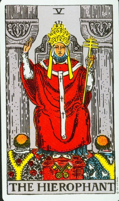 Arcanos Mayores - El Papa